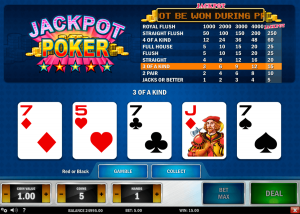 Video poker online - Australia