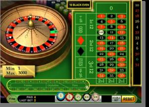 Online roulette game Australia